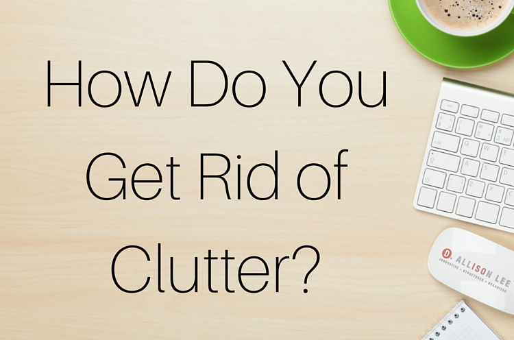 The Clutter Paradox: Contradictions in Clutter Clearing Methods