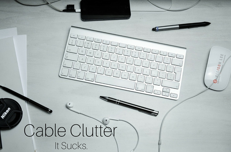 Cable Clutter In Your Workspace