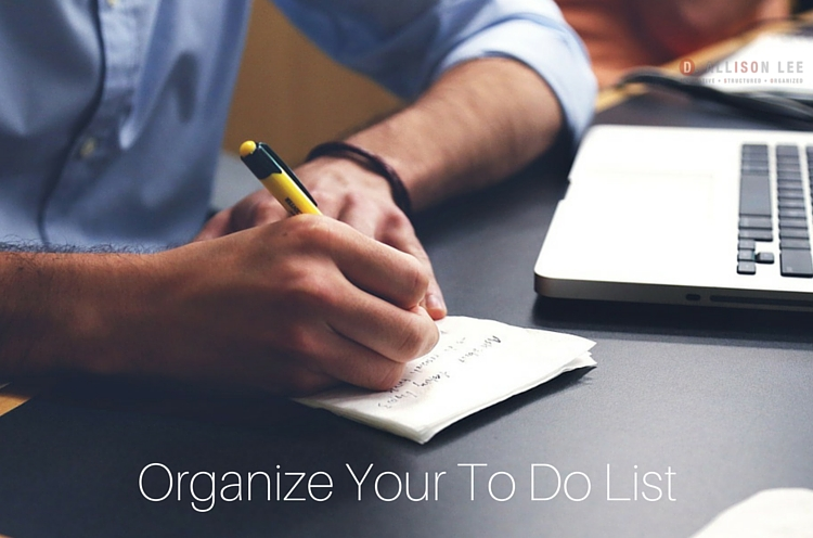Maintain Your To Do List