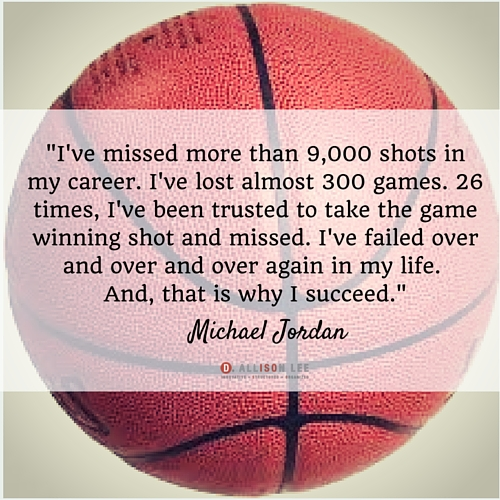 Michael Jordan's quotes are very inspiring for entrepreneurs.