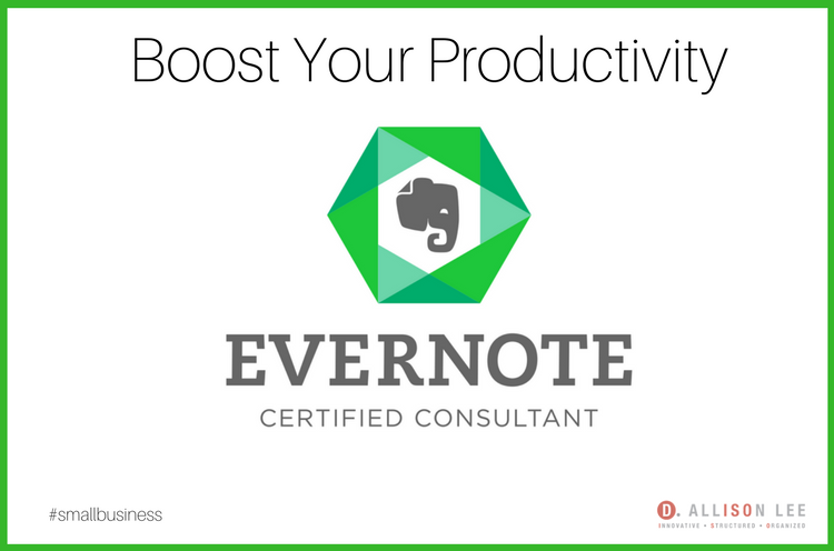 Evernote Certified Consultant | DAllisonLee.com