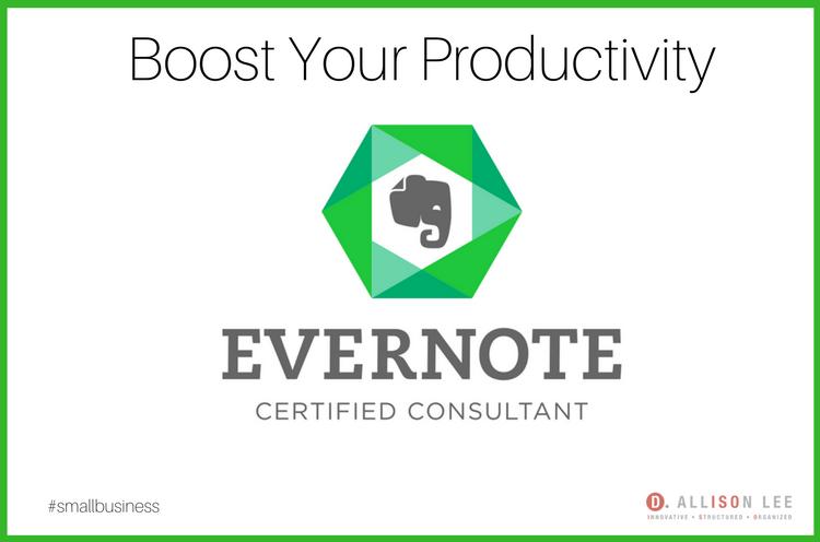 Evernote Certified Consultant   DAllisonLee.com