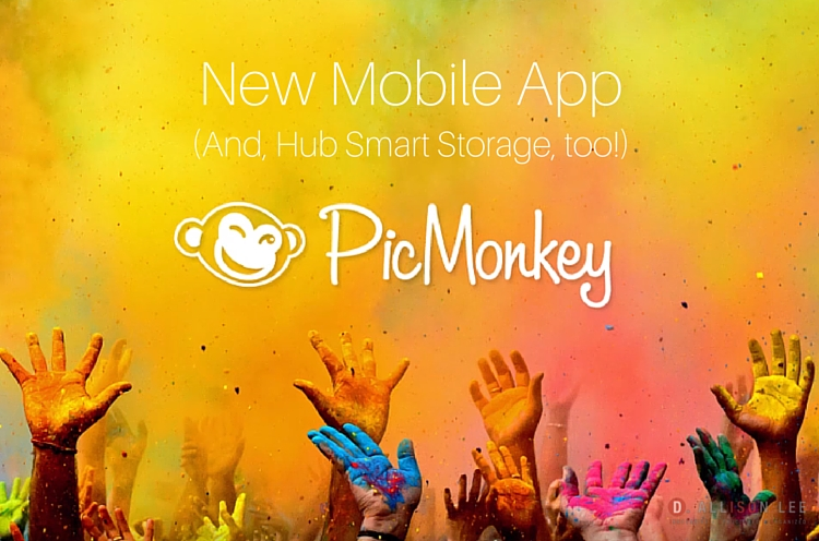 PicMonkey Update: New Mobile App And Hub Smart Storage