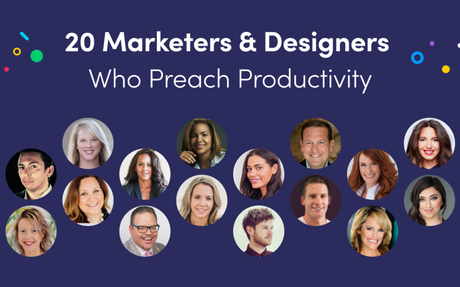 20 Marketing & Design Pros Who Can Help You Boost Your Productivity